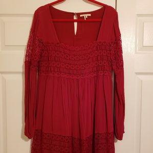 Anthropologie flowy dress
